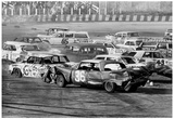 Demolition Derby 1974 Archival Photo Poster Posters