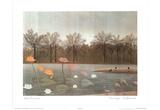Henri Rousseau Pink Flamingos Flamants Art Print POSTER Posters