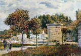 Alfred Sisley Watering Place in Marly Art Print Poster Prints