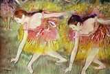 Edgar Degas Ballet Dancers Art Print Poster Masterprint
