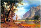 Albert Bierstadt Yosemite Valley Art Print Poster Posters