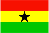 Ghana National Flag Poster Print Prints