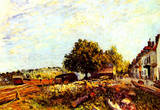 Alfred Sisley Saint Mammes in the Morning Art Print Poster Photo