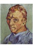Vincent Van Gogh (Self-Portrait, 1888) Art Poster Print Posters