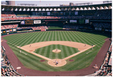 Busch Stadium Field Color St Louis Archival Photo Sports Poster Affiche