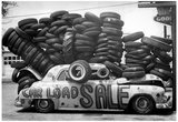 Car Load Tire Sale Archival Photo Poster Posters