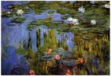Claude Monet Water-Lilies 3 Art Print Poster Posters