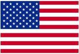 American Flag Poster Print Plakát