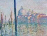 Claude Monet (Le Grand Canal, Venice) Art Poster Print Masterprint