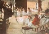 Edgar Degas Ballet Rehearsal Art Print Poster Masterprint