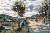 Claude Monet The Seine at Bougival Art Print Poster Masterprint