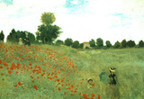 Claude Monet (Poppies) Art Poster Print Masterprint
