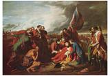 Benjamin West (Death of General Wolfe) Art Poster Print Prints