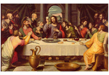 Juan de Juanes (The Last Supper) Art Poster Print Posters