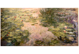 Claude Monet (Water Lilies, 1917-1919) Art Poster Print Prints
