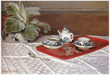 Claude Monet The Tea Set Art Print Poster Poster