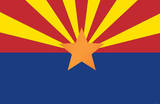 Arizona State Flag Poster Print Masterprint