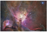 Hubble's Sharpest View of the Orion Nebula Space Photo Art Poster Print Posters
