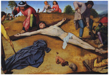 David Christ Nailed to the Cross Art Print Poster Posters