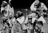 Chimpanzee Band 1973 Archival Photo Poster Masterprint