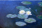 Claude Monet Water-Lilies 7 Art Print Poster Masterprint