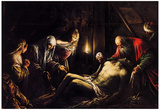 Bassano Mourning for Christ Art Print Poster Prints