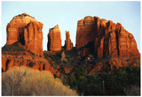 Cathedral Rock Sedona Arizona Archival Photo Poster Print Print