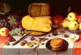 Floris Claesz. van Dyck Still Life Art Print Poster Masterprint