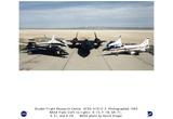 NASA (X-15, F-18, SR-71, X-31, X-29, 1993) Art Poster Print Print