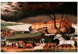 Edward Hicks (Noah's Ark) Art Print Poster Stampa