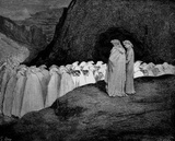 Gustave Dor&#233; (Illustration to Dante&#39;s &quot;Divine Comedy,&quot; Inferno - Hypocrites) Art Poster Print Masterprint