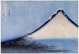Katsushika Hokusai Mount Fuji 2 Art Poster Print Posters