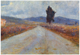 Amadeo Modigliani Landscape in the Toscana Art Print Poster Prints