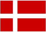 Denmark National Flag Poster Print Posters