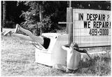 Appliance Repair Washing Machine Legs Archival Photo Poster Prints