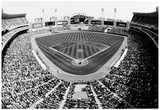 Comiskey Park Chicago Stands Archival Photo Sports Poster Posters