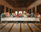 Last Supper Art Print Poster Jesus Christ Leonardo da Vinci Masterprint