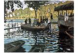 Claude Monet (La Grenouillere) Art Poster Print Poster
