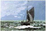 Claude Monet Storm Art Print Poster Posters