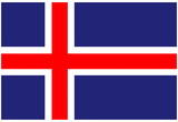 Iceland National Flag Poster Print Posters