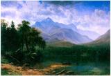 Albert Bierstadt Mt.Washington Landscape Art Print Poster Photo