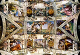 MICHELANGELO Creation Sistine Chapel ART POSTER Adam Masterprint