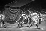 Babe Ruth Batting Practice Archival Photo Poster Print Masterprint