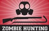 Zombie Hunting Gas Mask Crowbar Shotgun Sports Poster Print Masterprint