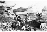 Mexican War (Storming of Independence Hill at Battle of Monterey) Art Poster Print Posters