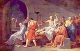 Jacques-Louis David (Death of Socrates) Art Poster Print Masterprint