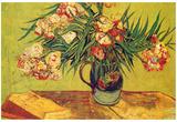 Vincent Van Gogh (Oleanders) Art Poster Print Posters