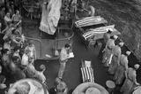 World War II Funeral at Sea Archival Photo Poster Print Masterprint