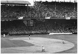 Vintage Baseball Stadium Archival Sports Photo Poster Prints