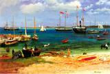 Albert Bierstadt Nassau Port Art Print Poster Masterprint